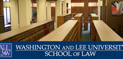 New Initiatives Announced at Washington and Lee School of Law