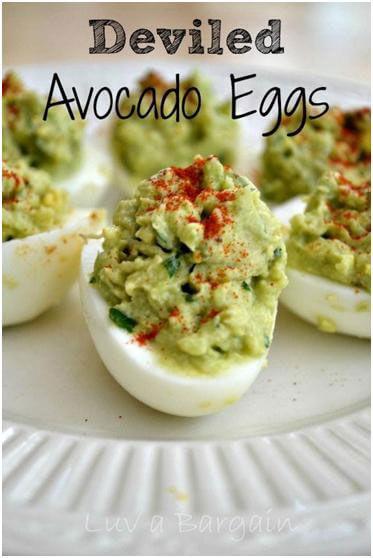 Avocado-Eggs