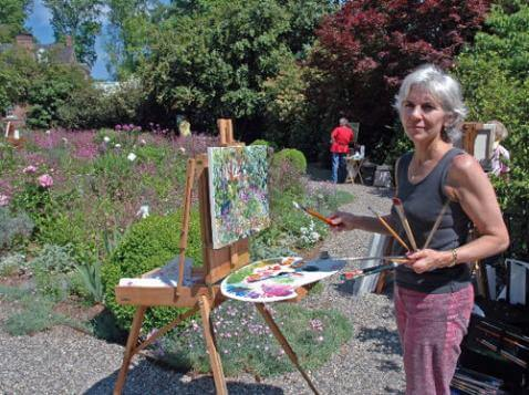 Painting in Providence with Jill