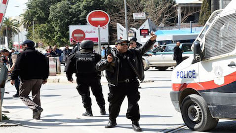 Tourists were targeted in a terrorist attack in Tunisia on Wednesday.