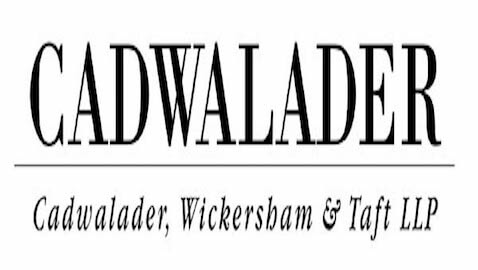 Cadwalader, Wickersham & Taft Hires Three New Partners