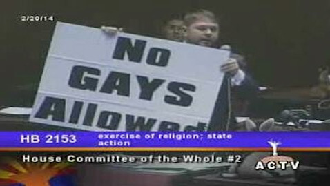 Many states are deciding whether or not legislation allowing businesses to refuse service to gay couple should be enacted.
