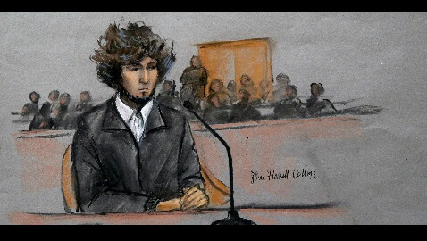 boston bomber prepares for sentencing