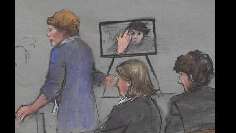 Photo of Tsarnaev Flipping Off Camera Shown to Jurors
