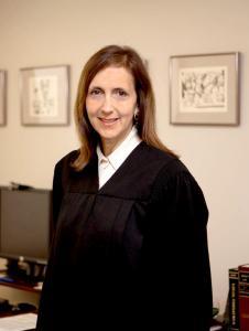 Supreme Court Justice Barbara Jaffe