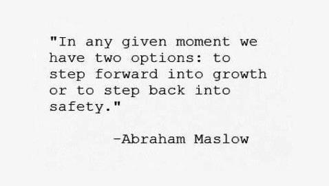 Two-options-in-life-quote-by-Abraham-Maslow