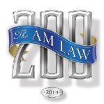 Chart of AmLaw 200 Law Firms Shows Rank, Revenue, Size, and Employee Breakdown