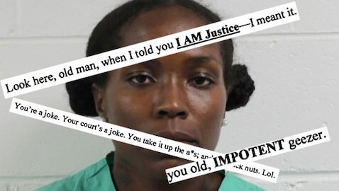 Florida Woman Files Notice to 'F*** This Court'
