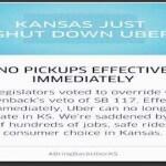 Kansas Bans Uber