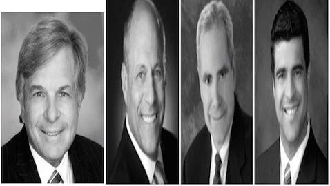 From left: Corwin, Hoffman, Berman, Riguera