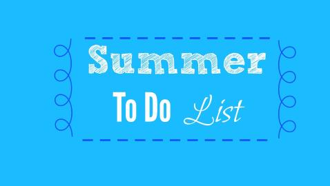 2015-Summer-To-Do-List