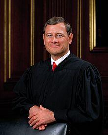 Chief Justice John Robert