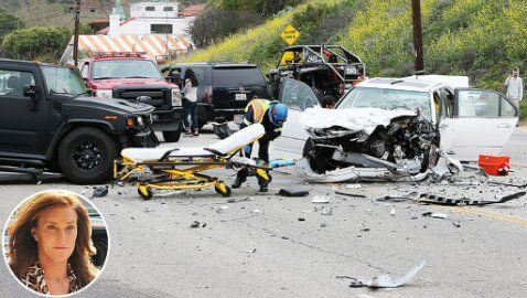 Caitlyn Jenner car accident