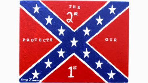 confederate flag print
