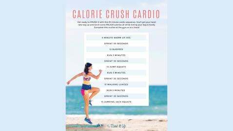 Five Cardio Interval Workouts That Will Help You Lose Weight