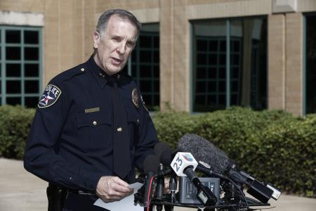 Irving police chief Larry Boyd