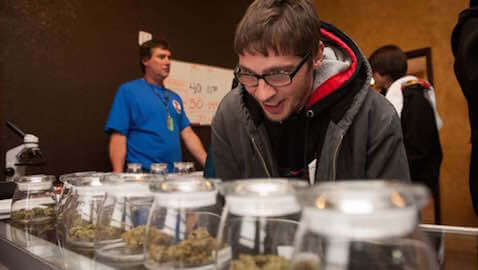 Colorado has enjoyed a surplus of tax revenue since it legalized the use of marijuana.