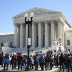 Protests on the Supreme Court Grounds Still Not Allowed
