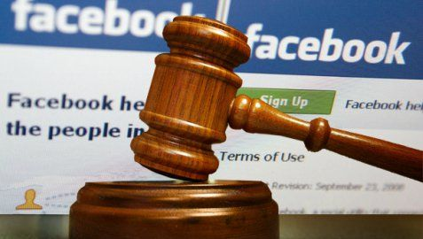 Judge Punished for Inappropriate Facebook Posts