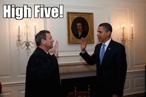 SCOTUS high five