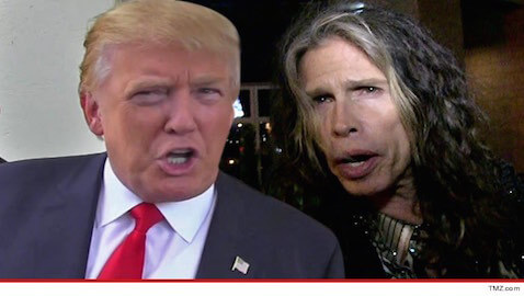 "Steven Tyler's legal team has warned Donald Trump that he must stop using Aerosmith's song ""Dream On"" immediately in his campaign."