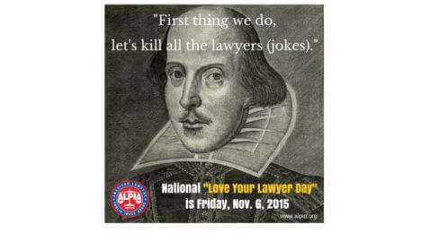 National Love Your Lawyer Day Declares Bad Jokes Are Off