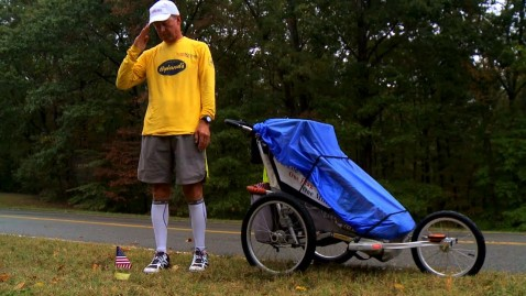 Army Vet Runs 81 Marathons to Honor Fallen Soldiers, Marines