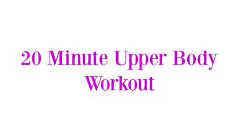 20-minute-upper-body-workout