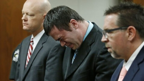Oklahoma Rapist Cop Cries During Conviction