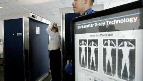 TSA full-body scanner