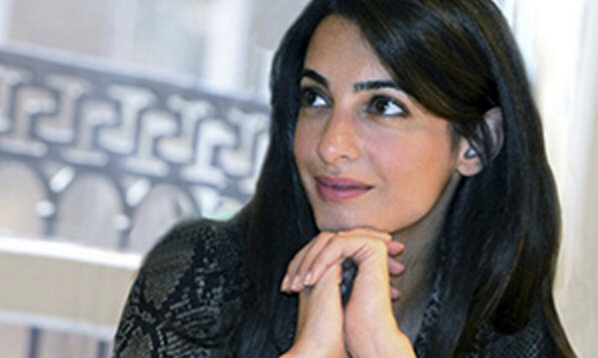 Amal Clooney Returns to Columbia Law School