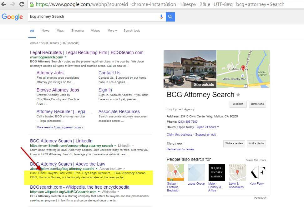 BCG Attorney Search Google Search