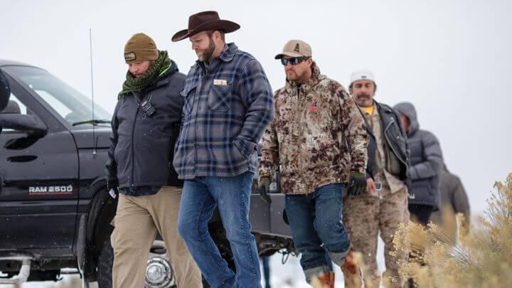 Oregon after Ammon Bundy's arrest.