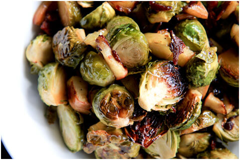roasted-brussels-sprouts-with-squash-cranberries-and-dijon-vinaigrette-4