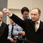 Extremist Opens Lawsuit Proceedings with Nazi Salute