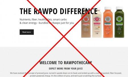 Rawpothecary Nature's Pharmacy website