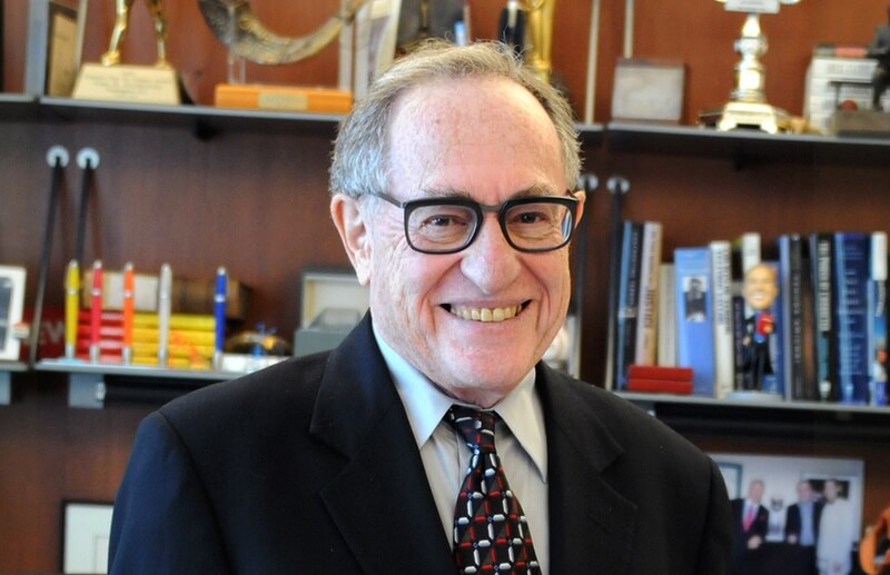 Lawyers Withdraw Sexual Misconduct Allegation against Alan Dershowitz