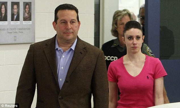 Casey Anthony Allegedly Paid Defense Lawyer with Sex