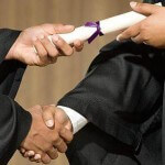No Handshakes during Harvard Law School Graduation