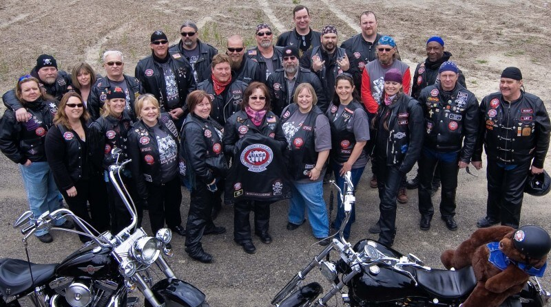Bikers Provide Emotional Support for Abused Children in Court