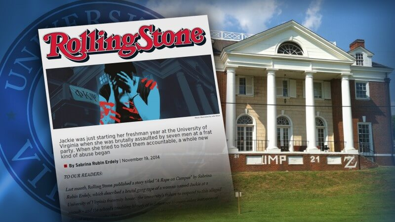 Judge Dismisses UVA Frat Brothers' Lawsuit against Rolling Stone