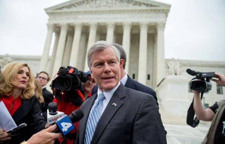 Supreme Court Dismisses Former Virginia Governor's Conviction