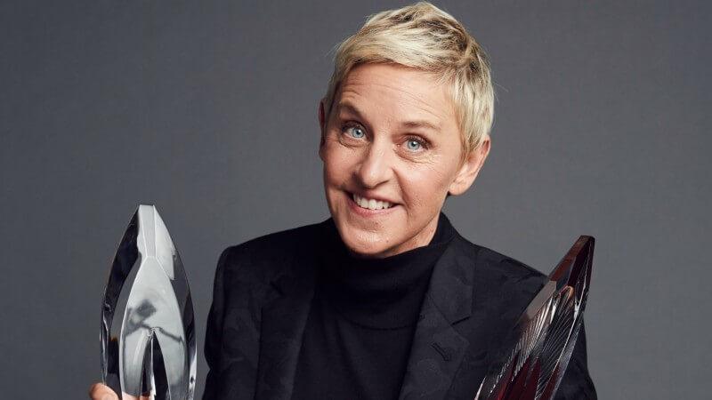 Comic Ellen Degeneres Sued Over Boob Joke