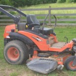 Couple Caught Taking a Morning Ride Naked on a Lawn Mower