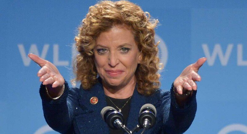 DNC Chair Rep. Debbie Wasserman Schultz, D-FL, speaks at the Democratic National Committee's Womens Leadership Forum Issues Conference in Washington, DC on September 19, 2014. AFP PHOTO/Mandel NGAN        (Photo credit should read MANDEL NGAN/AFP/Getty Images)