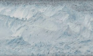 The largest glacier calving ever filmed - Raw video!