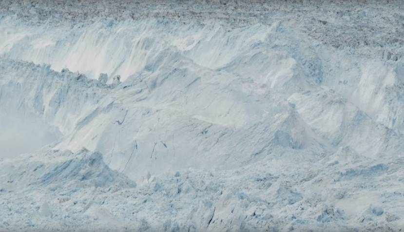 Raw Video of the Largest Glacier Calving Ever Filmed