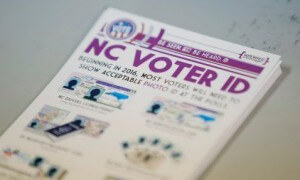 North Carolina voter ID