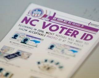 Voter ID Law Taken Down In North Carolina