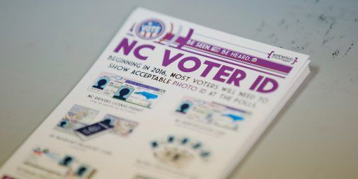 Voter ID Law Taken Down In North Carolina
